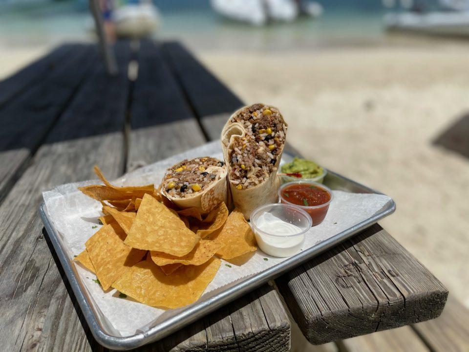 Burrito, Chips & Salsa